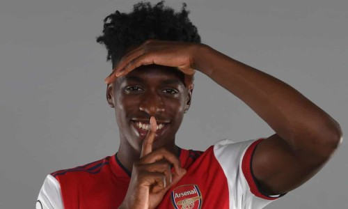 New Arsenal signing Albert Sambi Lokonga