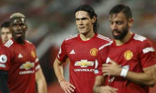 Edinson Cavani has earned a Premier League start with Man Utd
