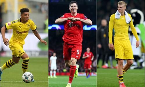 Bundesliga Team of the Season, starring Haaland, Sancho and Lewandowski