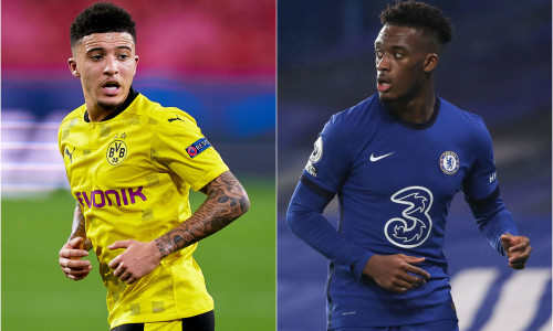 Could Dortmund replace Jadon Sancho with Callum Hudson-Odoi next season?