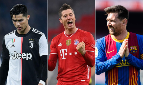 Lewandowski's 40-goal record up there with Ronaldo and Messi's heroics