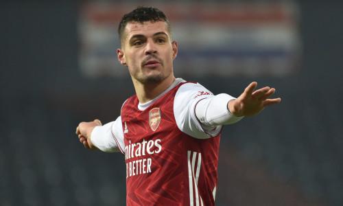 Granit Xhaka: I am proud Roma boss Jose Mourinho wants to sign me from Arsenal
