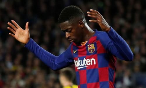 Ousmane Dembele Barcelona 2019/20