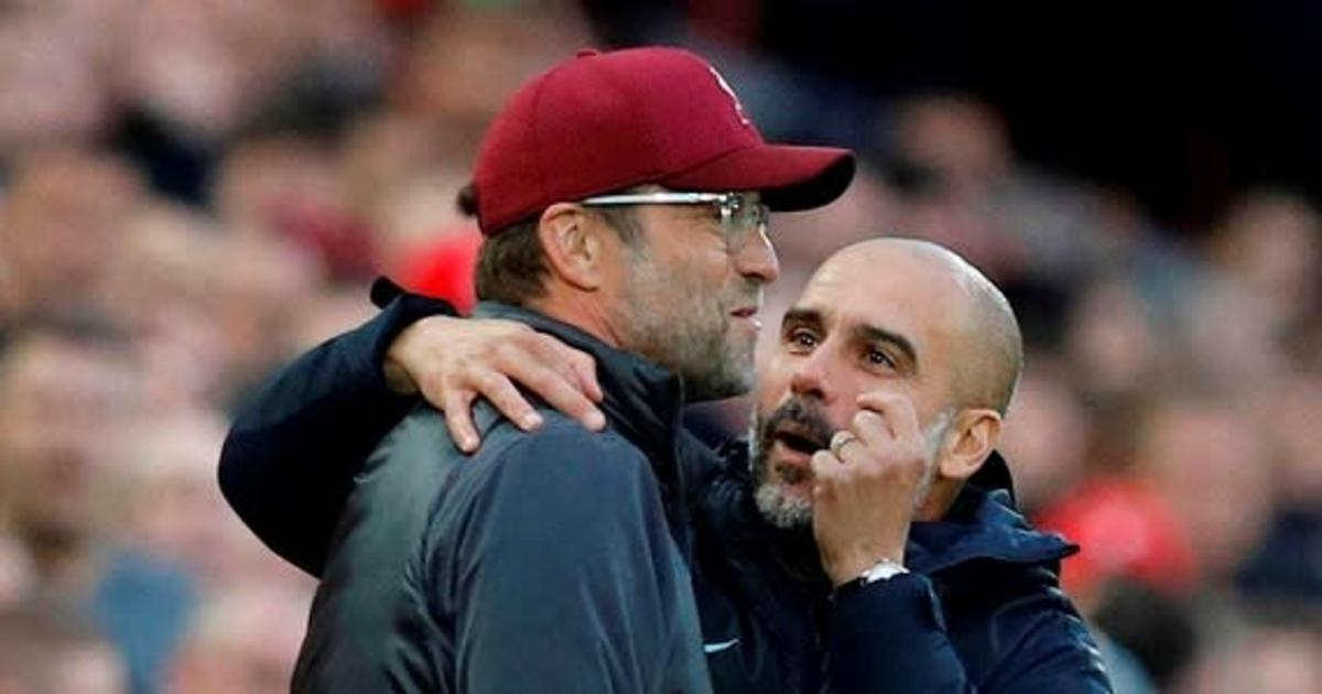 Jurgen Klopp, Pep Guardiola, Liverpool, Man City