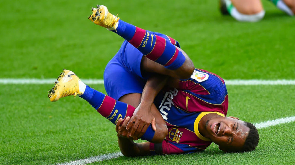 Fears voiced for the long-term fitness of Barcelona star Ansu Fati