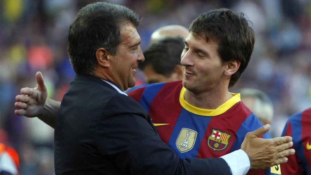 Laporta: Messi will do everything in his power to stay at Barcelona