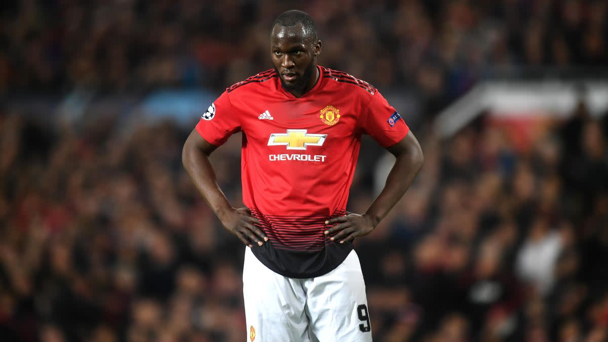 Former Manchester United striker Romelu Lukaku
