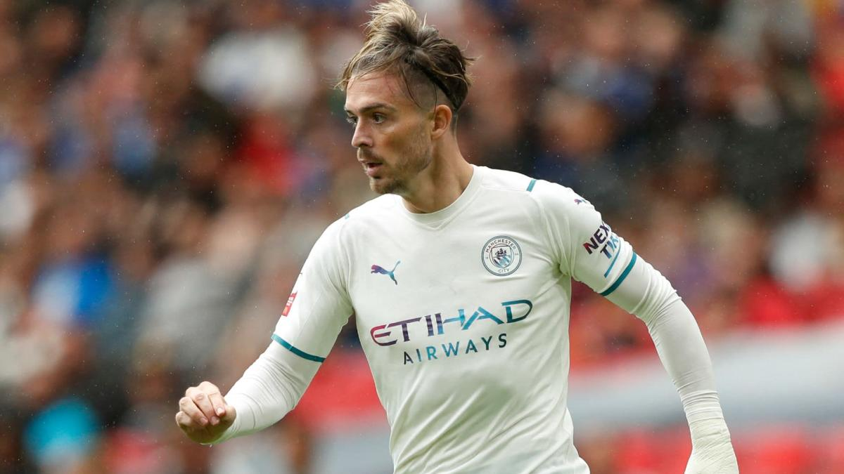 Jack Grealish makes his Man City debut against Leicester City