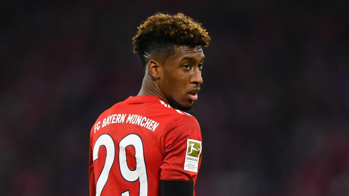 Bayern winger Coman hires Alaba's agent as interest from Man Utd grows