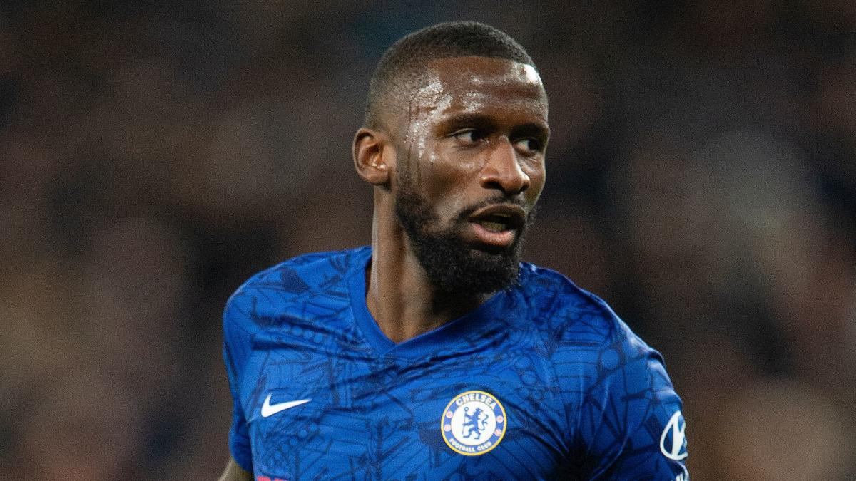 Antonio Rudiger won't consider new Chelsea contract until he returns from the Euros