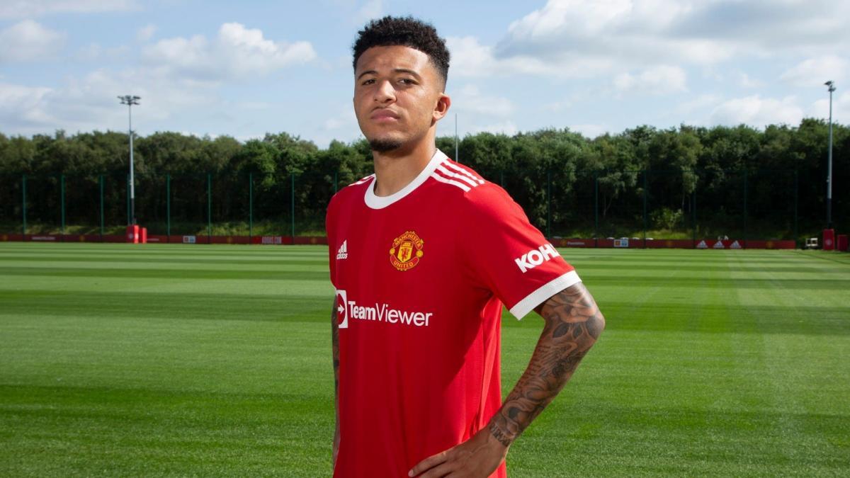 Jadon Sancho, Manchester United, 2021/22