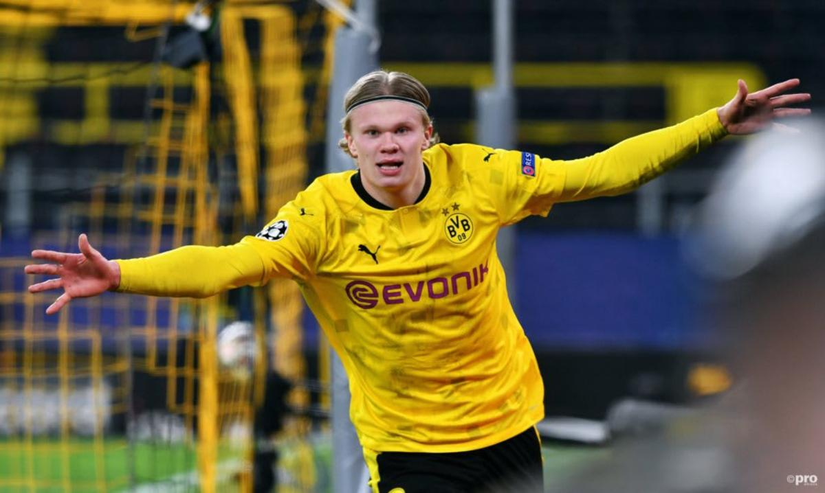 Erling Haaland has 49 goals in 49 appearances for Borussia Dortmund