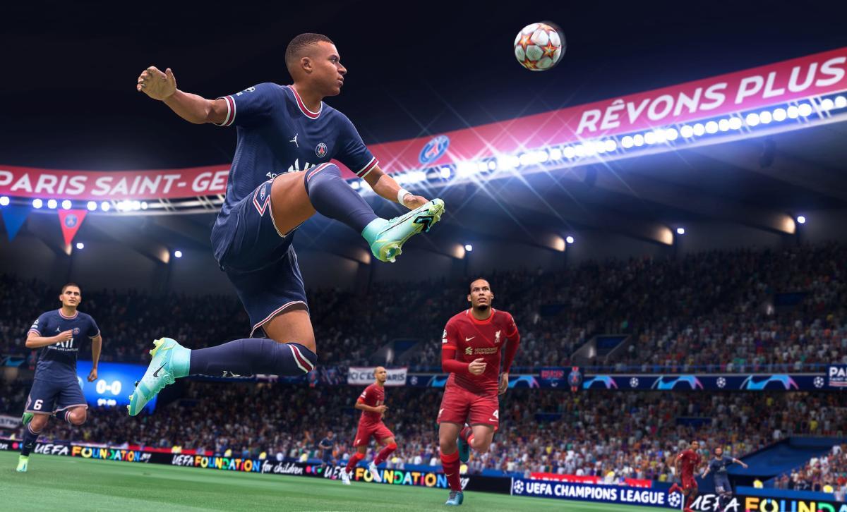 Kylian Mbappe, FIFA 22