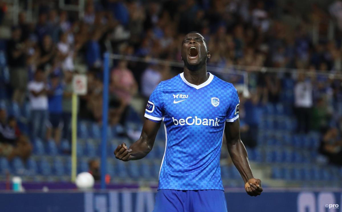 Genk striker Paul Onuachu