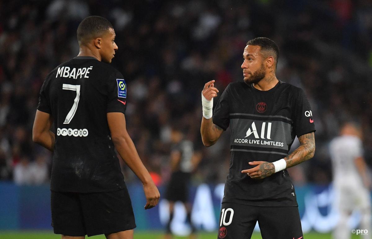 Kylian Mbappe, Neymar, PSG, 2021-22