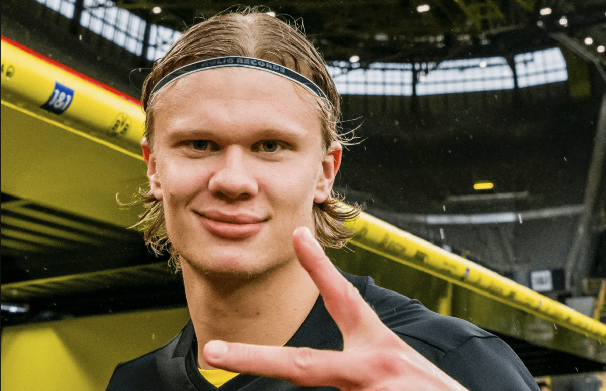 Erling Haaland 'respectful' of Dortmund's decision not to sell him this summer