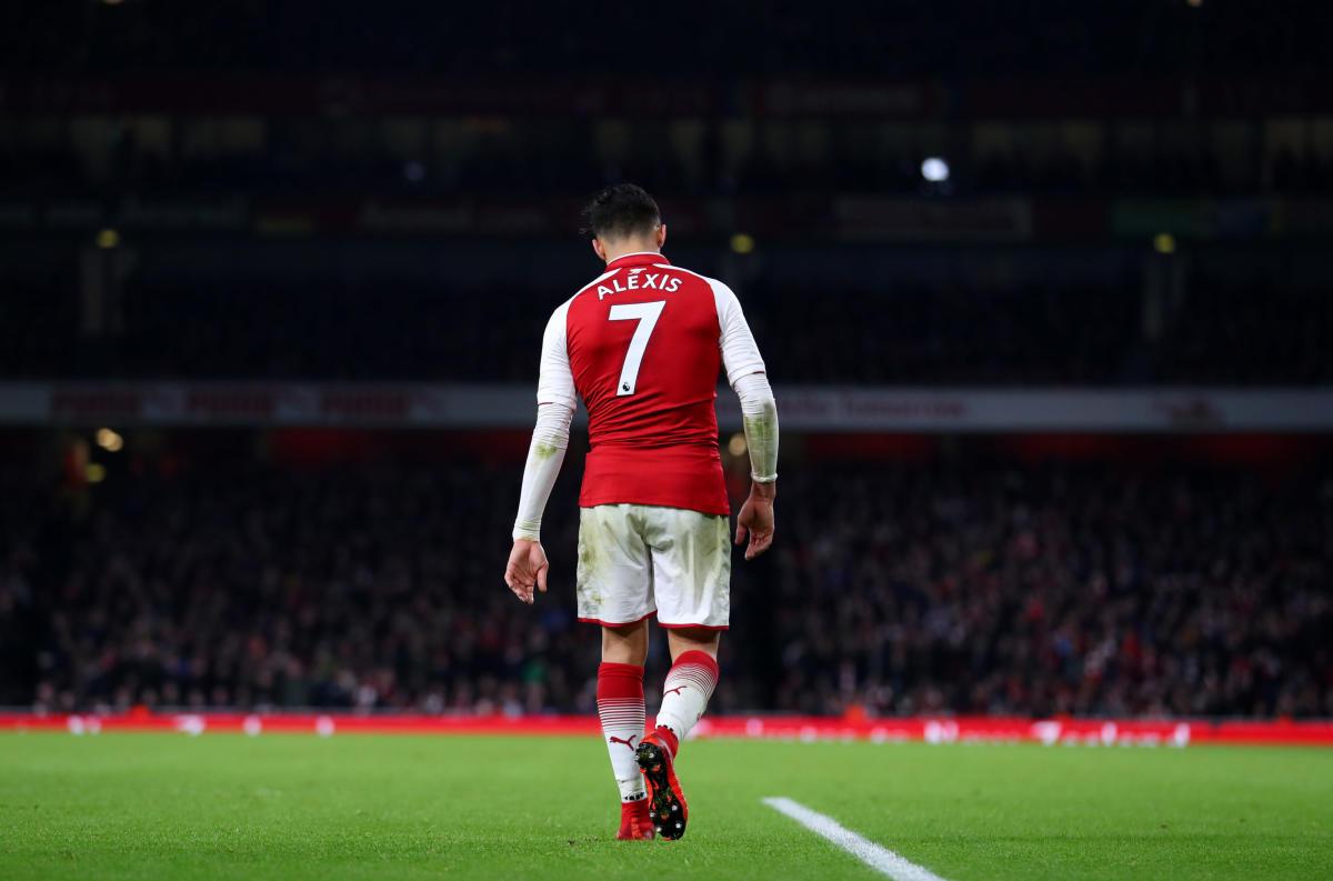 Former Arsenal striker Alexis Sanchez
