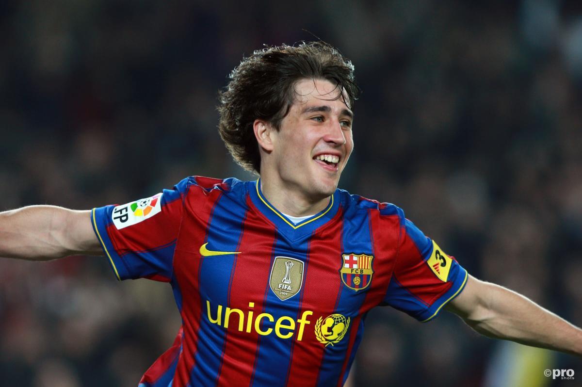 Bojan Krkic was once considered Barcelona's successor to Lionel Messi