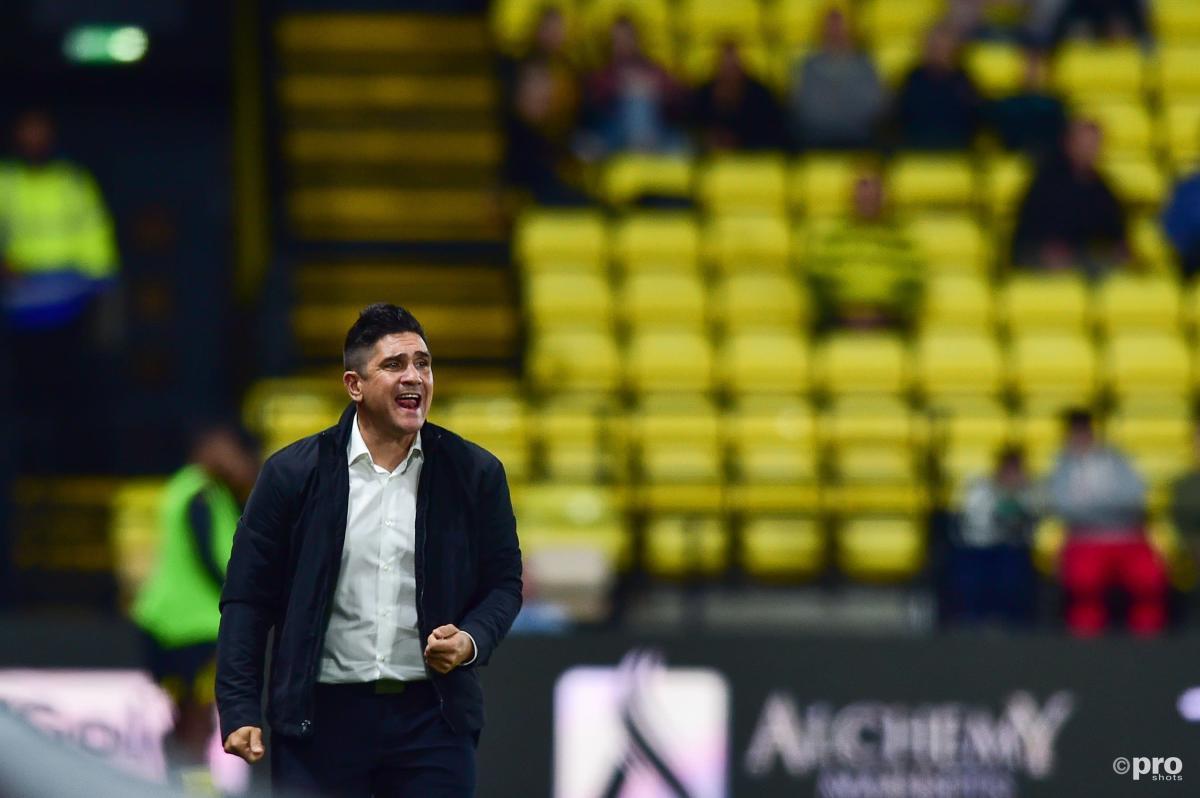 Xisco Munoz during a Watford match vs Stoke City.