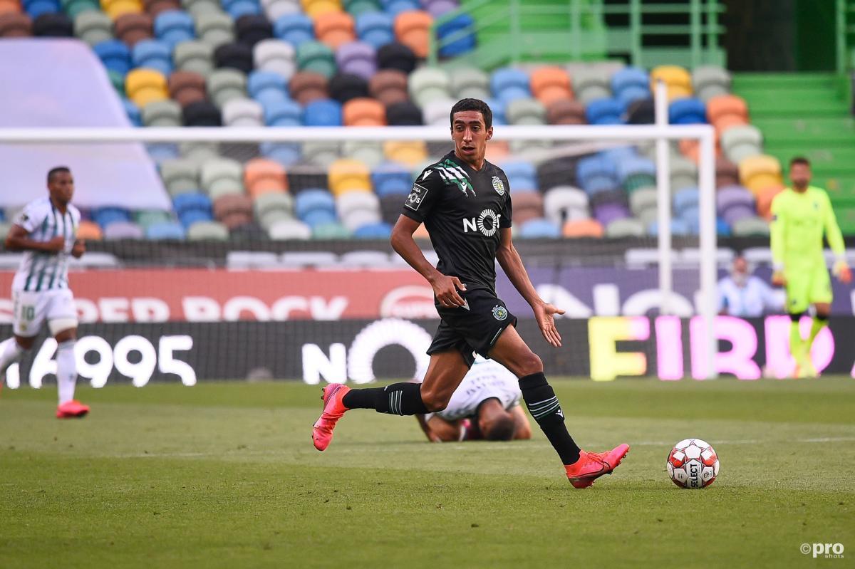 Tiago Tomas playing for Sporting