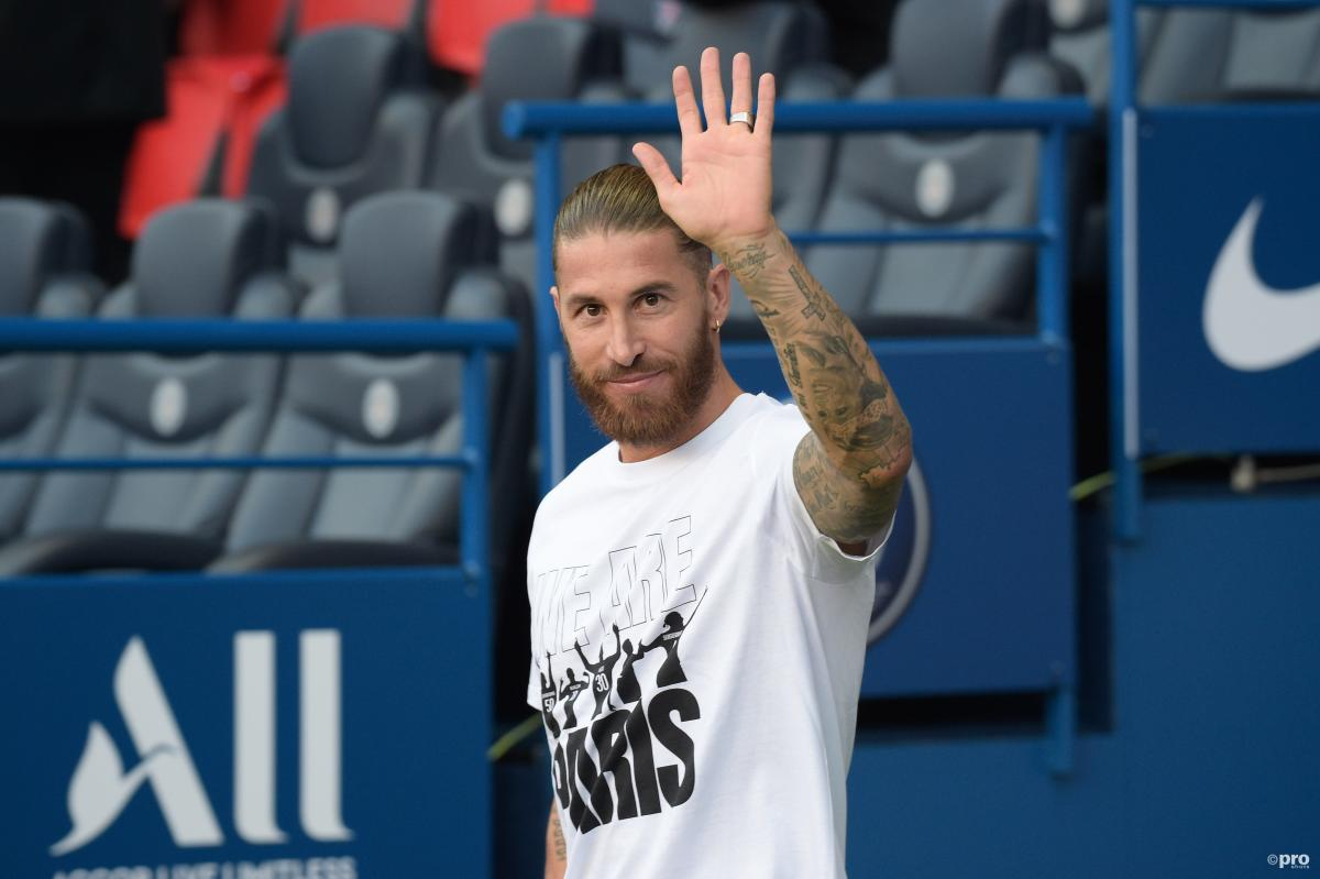 Sergio Ramos has yet to debut for PSG since moving from Real Madrid