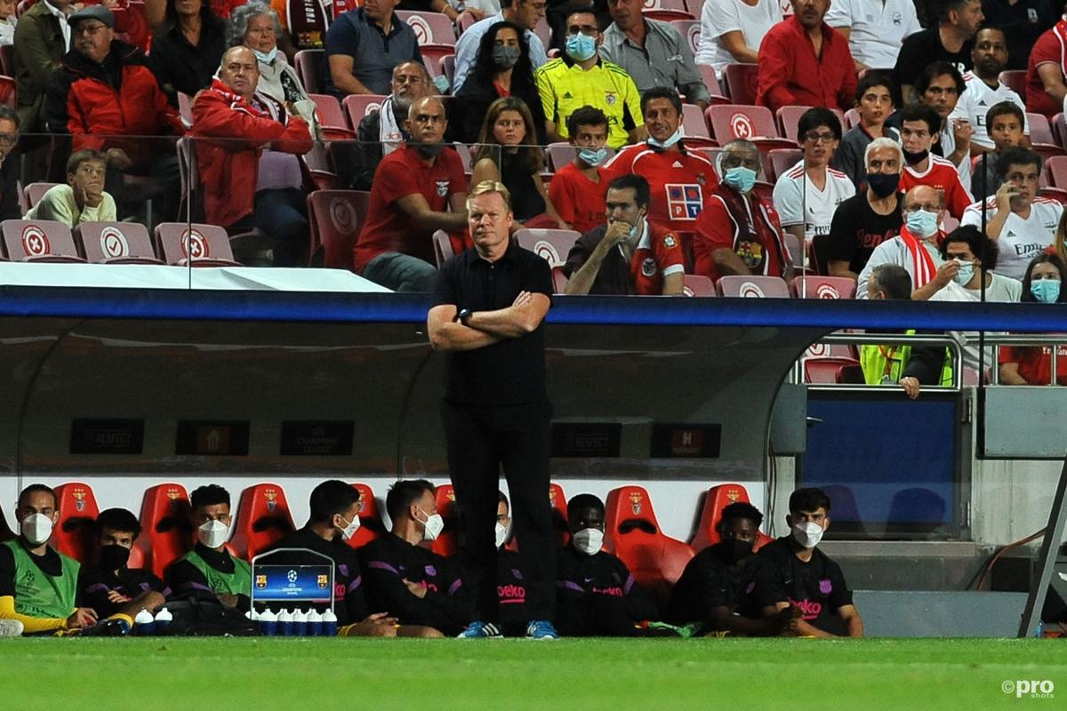 Ronaldo Koeman, Barcelona, 2021-22