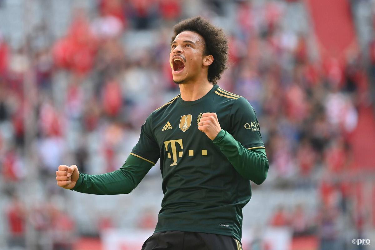 Bayern Munich forward Leroy Sane against Bochum