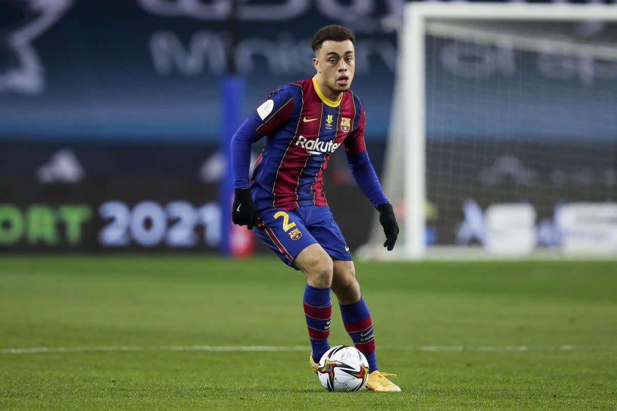 Barcelona defender Sergino Dest