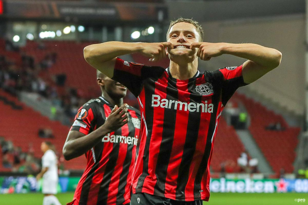 Bayer Leverkusen midfielder Florian Wirtz