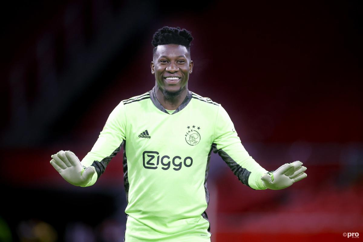Ajax goalkeeper Andre Onana is wanted by Arsenal, Inter and Lyon