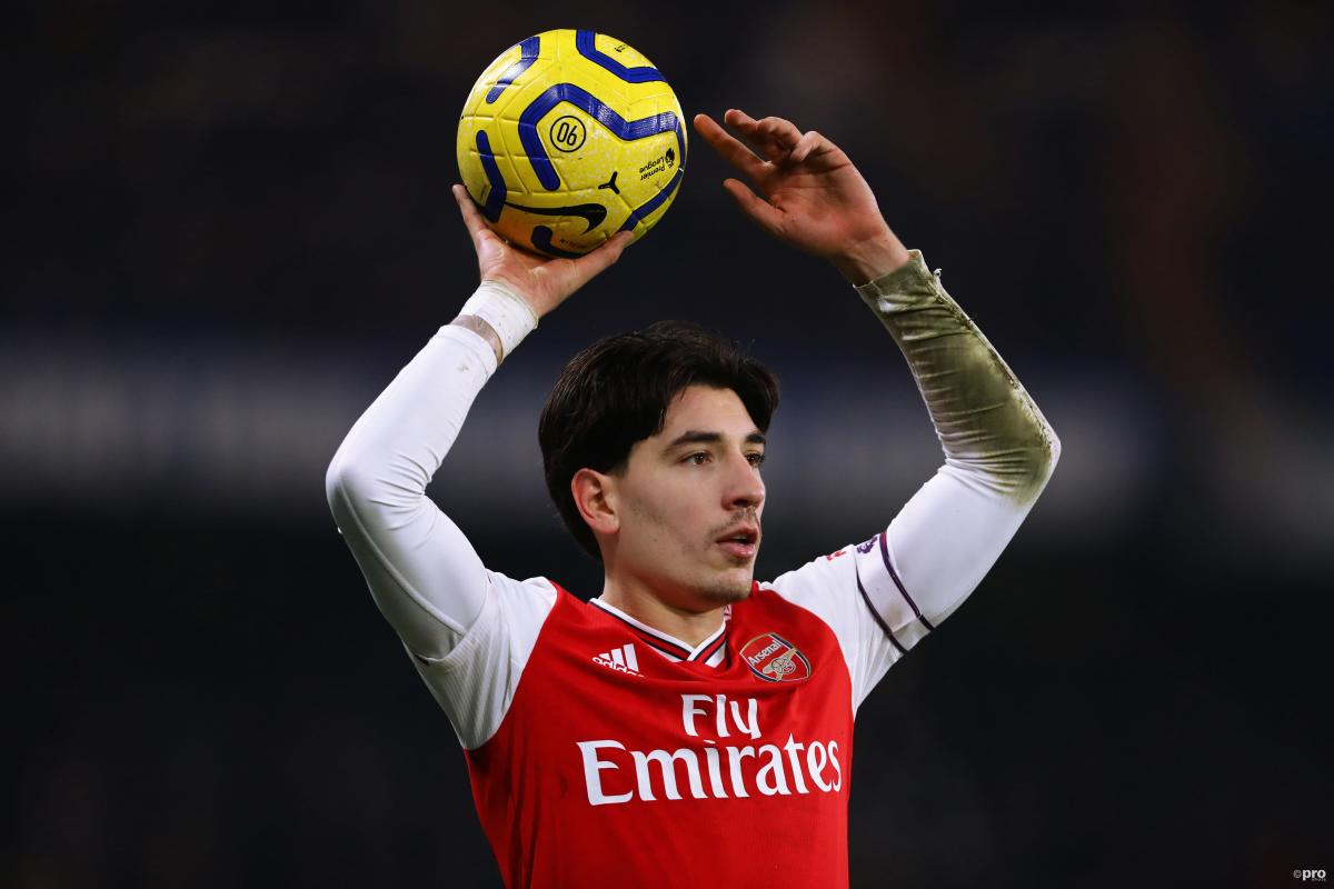 Arsenal's Hector Bellerin is wanted by Barcelona
