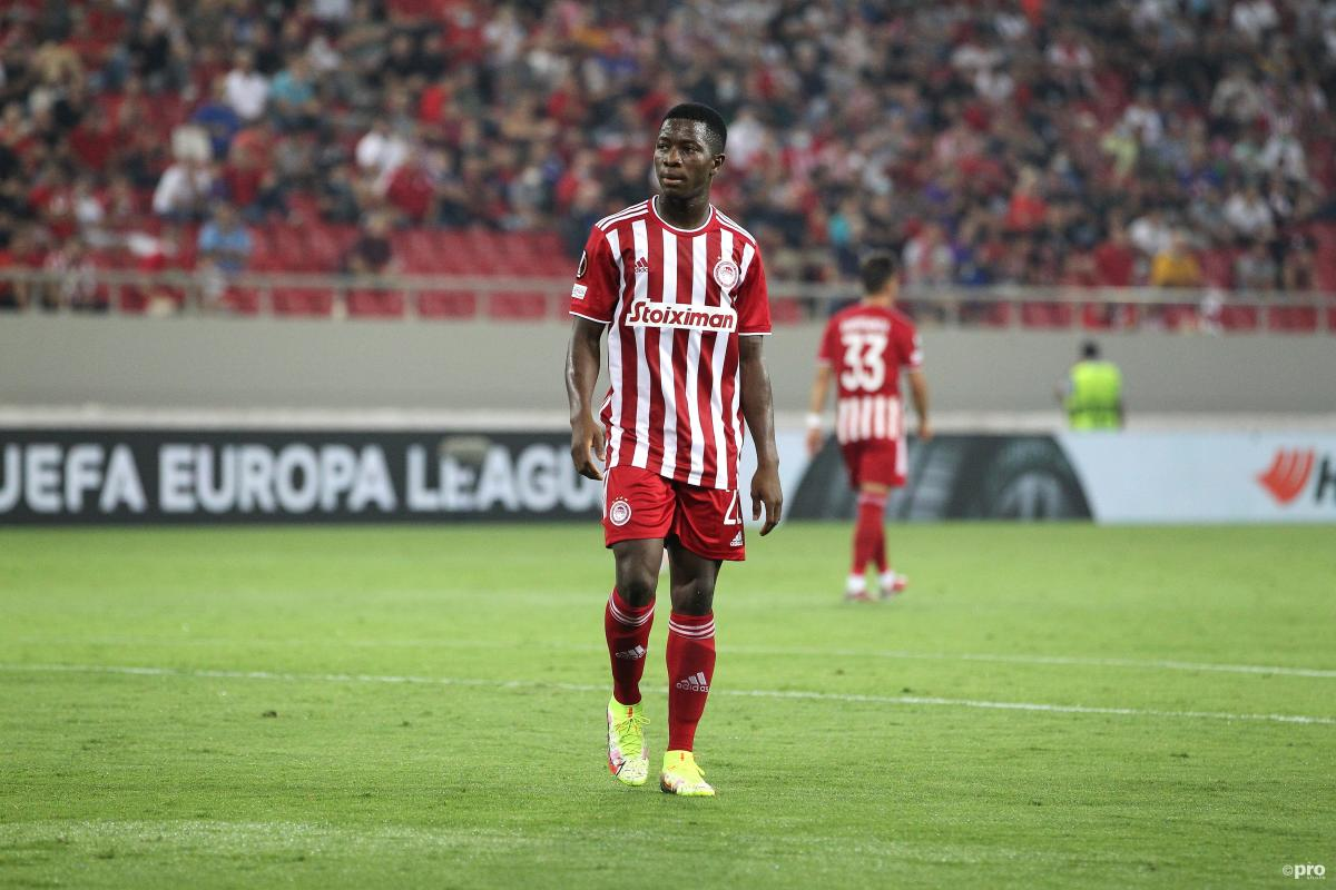 Aguibou Camara, Olympiacos midfielder wanted by Liverpool