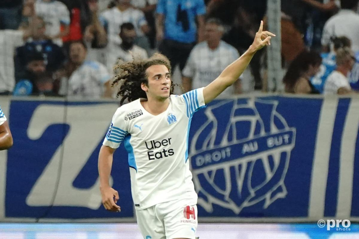 Former Arsenal player Matteo Guendouzi, Marseille, 2021/22