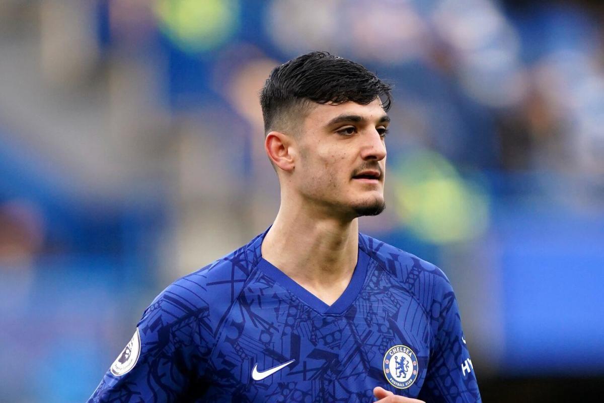 Chelsea striker Armando Broja