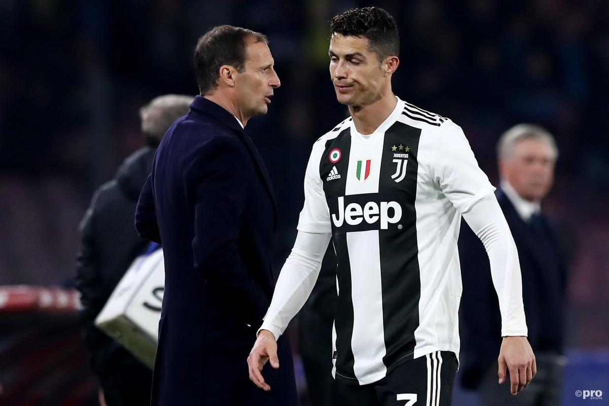 Max Allegri and Cristiano Ronaldo, Juventus, 2018-19