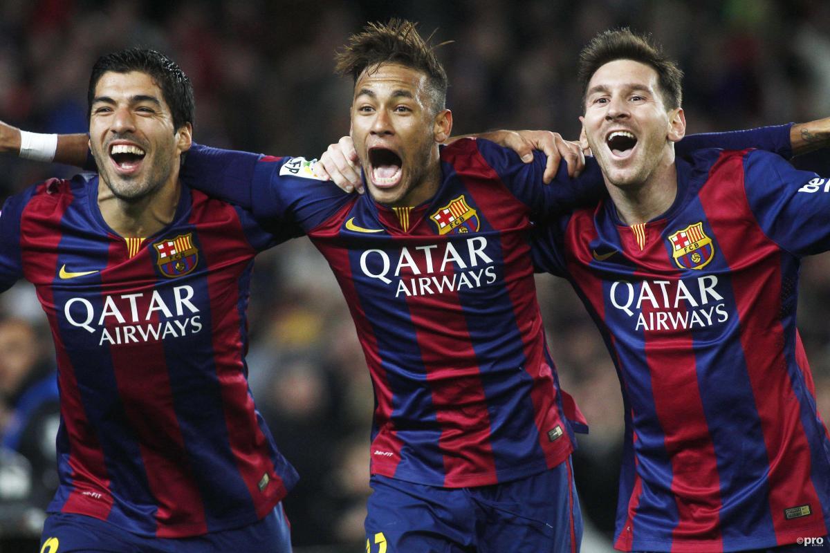 Lionel Messi, Luis Suarez, Neymar at Barcelona