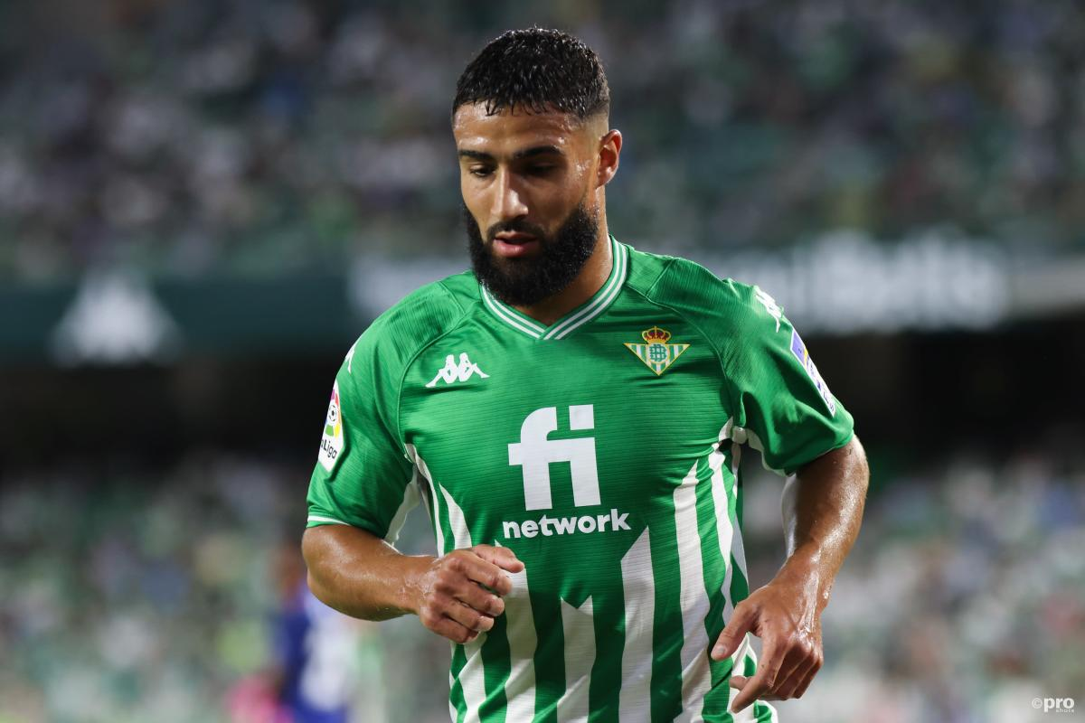 Nabil Fekir playing for Real Betis