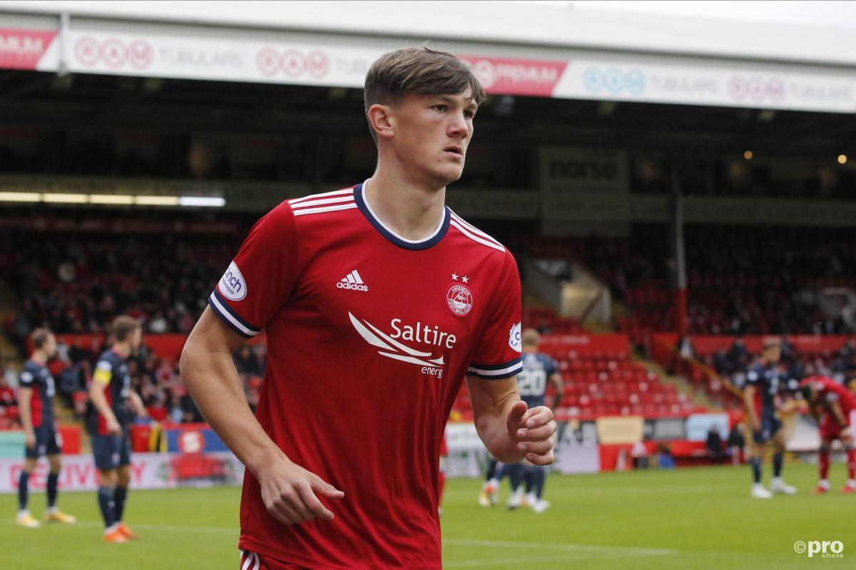 Aberdeen defender Calvin Ramsay