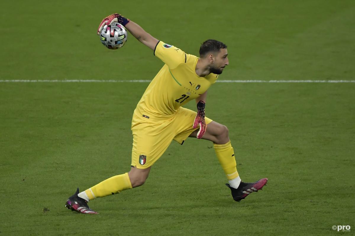 Gigio Donnarumma, Italy v England, Euro 2020 final