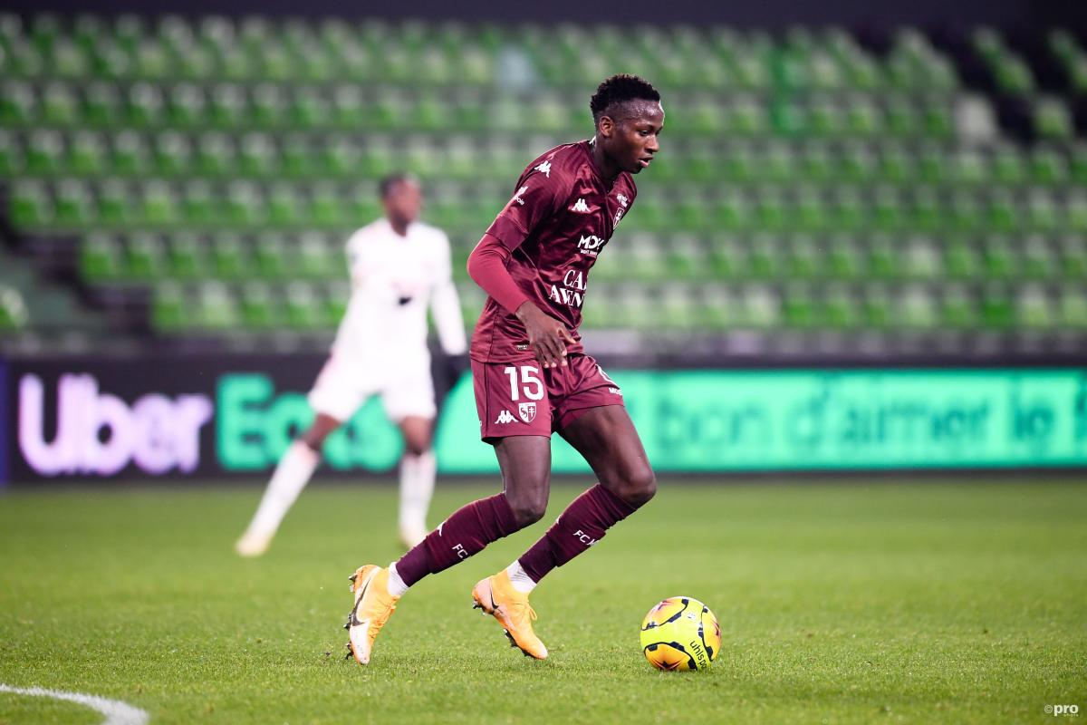 Pape Matar Sarr of Metz is wanted by Chelsea, Man Utd, Man City and Real Madrid