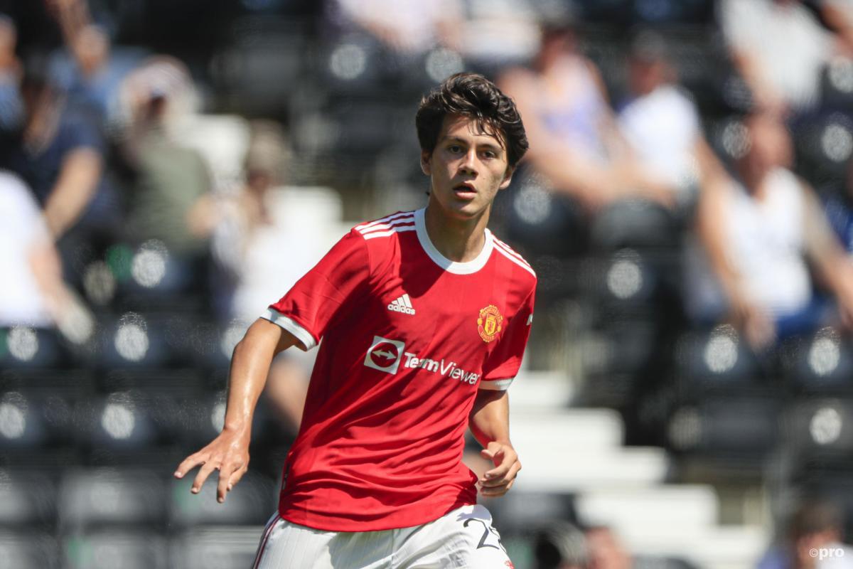 Facundo Pellistri, Manchester United