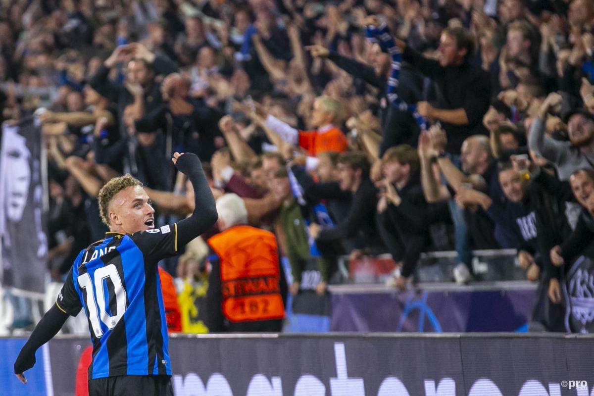 Noa Lang, Club Brugge, PSG, Champions League, 2021/22