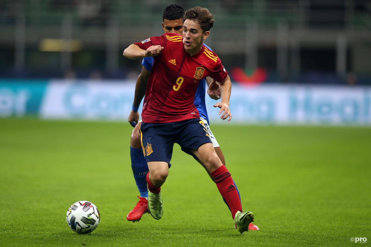 Gavi, Spain v Italy, Nations League