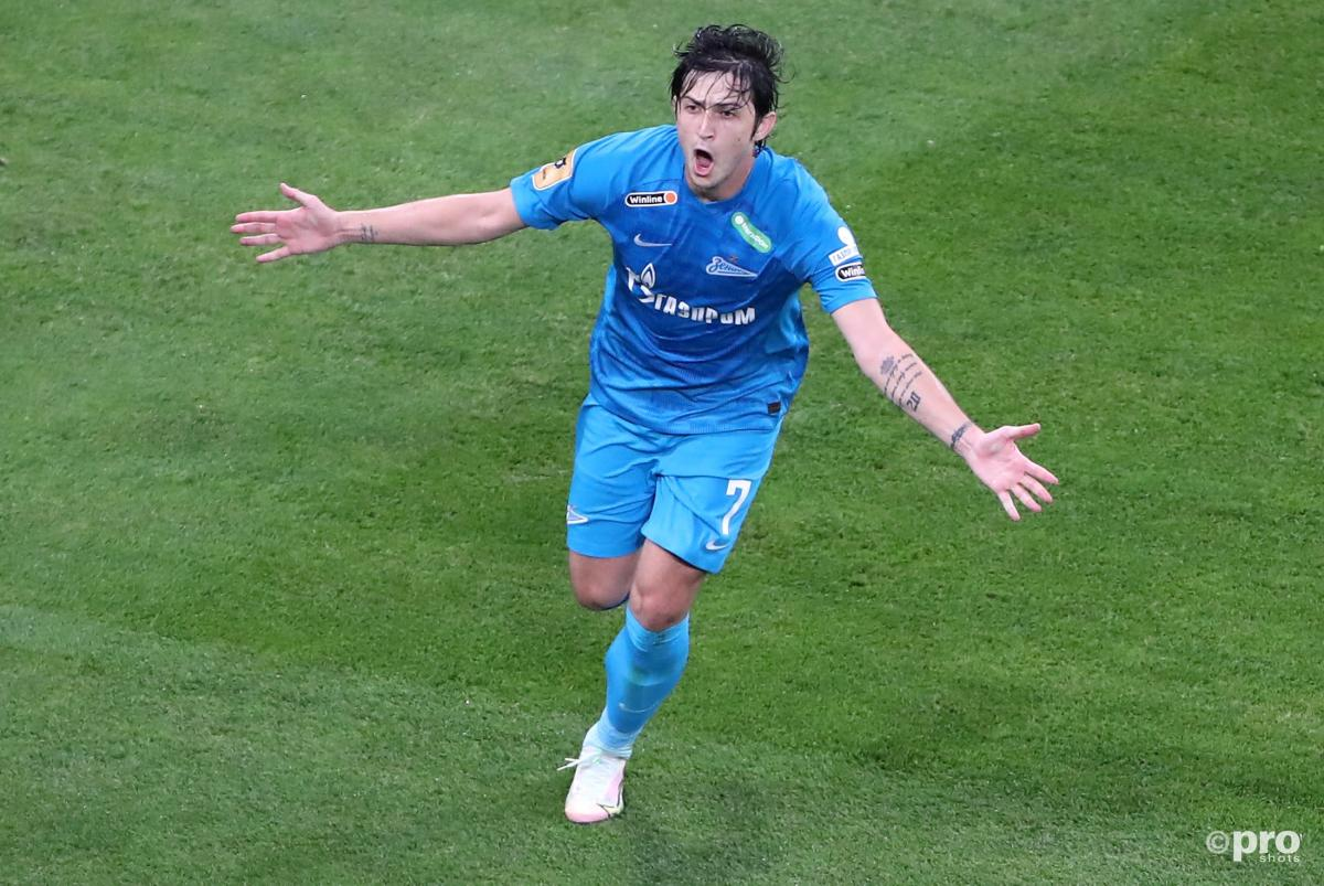 Zenit St Petersburg striker Sardar Azmoun