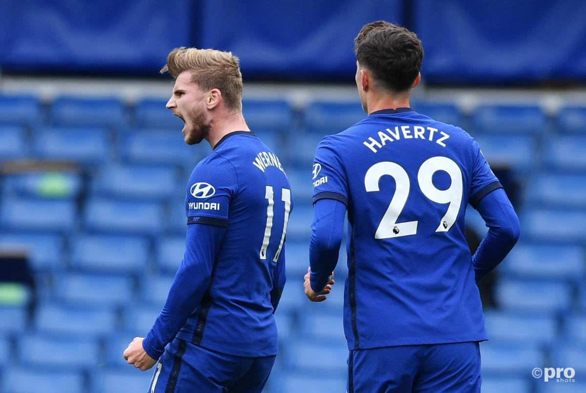 Havertz explains how Werner helped him during poor Chelsea start