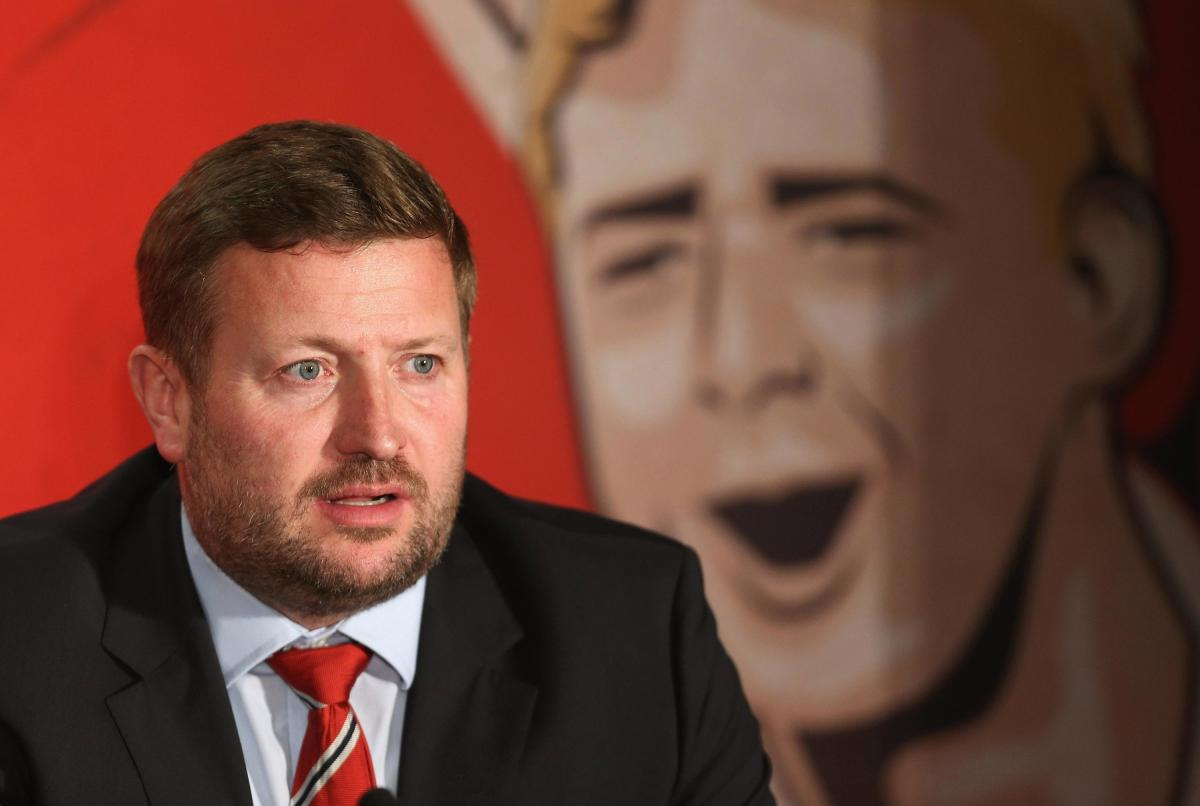Incoming Manchester United chief executive richard arnold