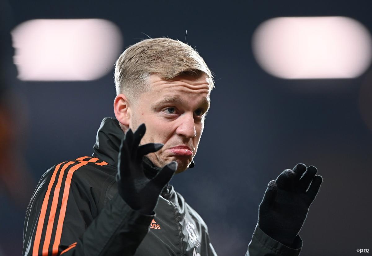 Donny van de Beek, Manchester United, 2020/21