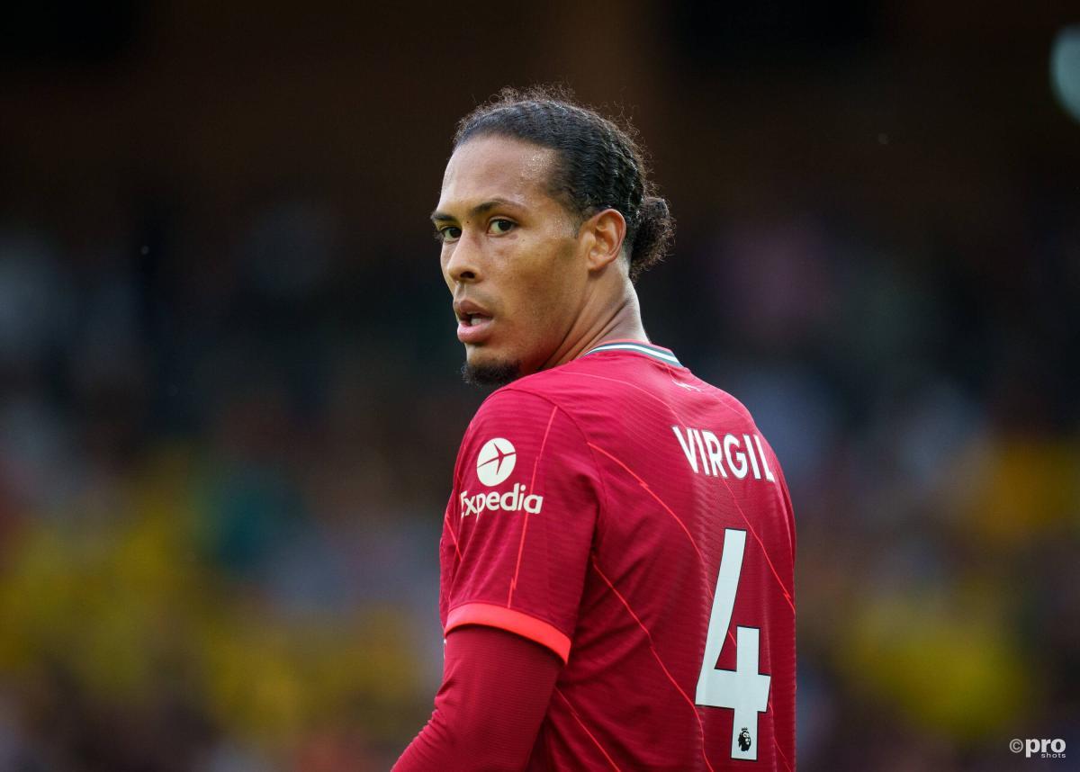 Virgil van Dijk in action for Liverpool