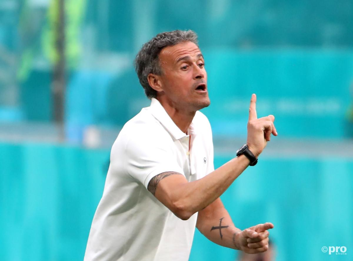 Luis Enrique has been linked with a return to Barcelona
