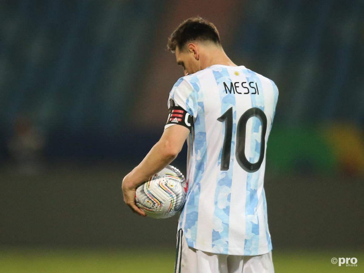 Lionel Messi, Argentina v Ecuador, Copa America 2021